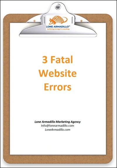 0219c3FWE - 3 Fatal Website Errors - Clipboard
