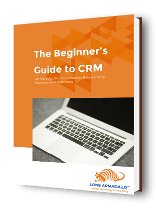 219eCRM LA The Beginners Guide to CRM eBook Cover