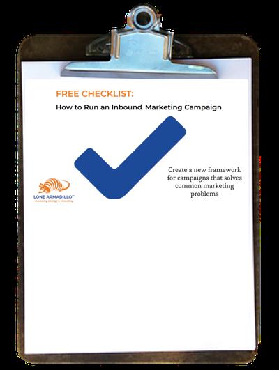 How to Run an Inbound Marketing Campaign - Free Checklist!