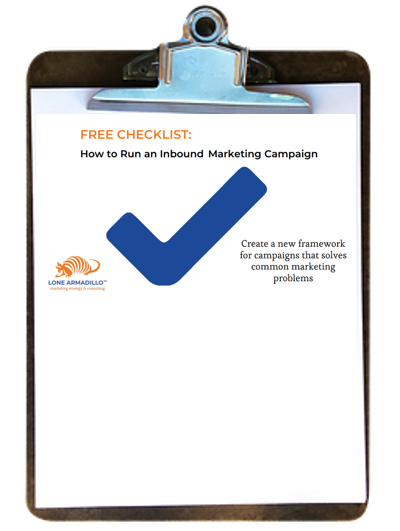How to Run an Inbound Marketing Campaign - Free Checklist!
